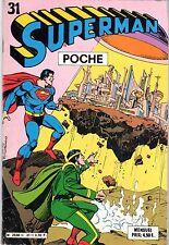 SUPERMAN POCHE 31 SAGE 1980 RARE