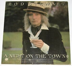 Philippines ROD STEWART A Night On The Town LP Record