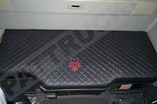Truck Bed Cover Compatibles avec Volvo FH4 2013+ eco cuir noir & rouge Stitches
