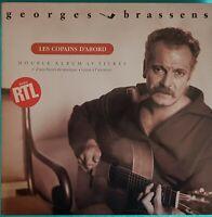 DOUBLE ALBUM 19 TITRES 33 TOURS GEORGES BRASSENS