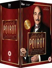 AGATHA CHRISTIE POIROT Complete Definitive Series 1-13 Collection Boxset NEW DVD
