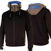 SEESTERN Herren Kapuzen Sweat Shirt Jacke Pullover Zip Hoody Sweater Gr.XS-XL