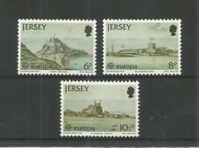 JERSEY 1978 EUROPA MONUMENTS  SG,187-189 UM/M N/H LOT R858