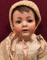 Antique Simon & Halbig Baby Doll with Teeth 21""