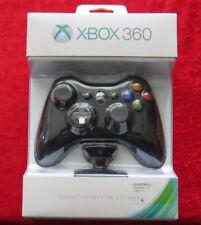 Wireless Controller + Play & Charge Kit Schwarz, XBox 360, Neu OVP