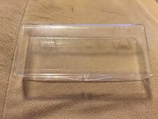 Clear Plastic Hinged Slot Car Parts Storage Box 5-3/4