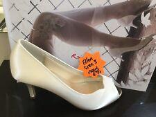 Rainbow Club Wedding Shoe Ellen Ivory Size 3 Bnib