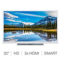 Toshiba 32W3864DB 32 Inch HD Ready SMART TV in White with 5 Years Warranty