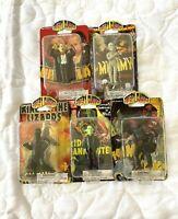 2006 CREEPY CLASSICS MONSTERS Greenbrier Figures 5 set MOC Frankenstein Dracula