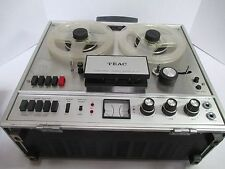 Vintage Teac A-1500 Reel to Reel Player in Portable Case #31