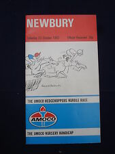 X-Horse Racing-Carte raciale-Newbury - 23 octobre 1982-Amoco