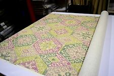 2NDS FABRIC MANDALAY ORCHID DESIGNER HOME DECOR & UPHOLSTERY FABRIC LINEN RAYON