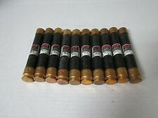 Lot of 10 BUSS Fusetron FRS-R-1 Class RK5 Fuses FRSR1