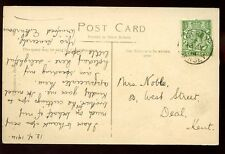Islas del Canal Jersey Mont orgueil & Gorey enviados desde 1914 Fino Matasellos