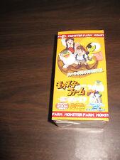 Monster Rancher Farm Japanese Trading Card Box