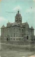 Early Vintage Postcard; Adair County Court House, Kirksville, Mo