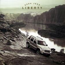2004 Jeep Liberty SUV new vehicle brochure
