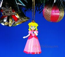 *R122 Decoration Ornament Xmas Tree Home Decor SUPER MARIO BROS PRINCESS PEACH