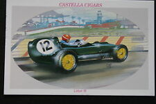 Lotus 16  Classic  Formula 1  Motor Racing Car  Picture Card # CAT J