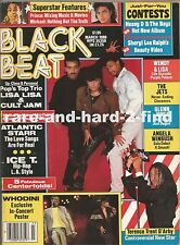 BLACK BEAT March 1988 LISA LISA Prince Michael Jackson Rare Vintage Magazine