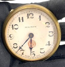 Magnific Extra Hand Manual Vintage 48,4 MM Doesn'T Works For Parts Pocket Watch