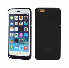 Black iPhone6 4800mAh Extended Power Bank Potable Battery Charger Case Cover
