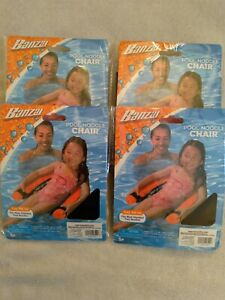 POOL NOODLE CHAIR NET - Swimming Seat Floating Chair-KIDS ADULTS-NEW-Lot of 4