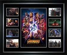 The Avengers Infinity War Limited Edition Framed Memorabilia