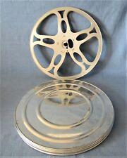 SUPER-8-LEERSPULE 240 METER + mehr SIMPLEX NEUWERTIG ALUMINIUM FILMSPULE REEL
