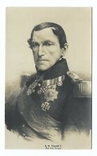 King Leopold I of Belgium Old Postcard 403S