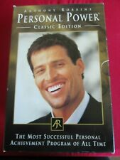 ANTHONY ROBBINS PERSONAL POWER CLASSIC EDITION AUDIO CASSETTES