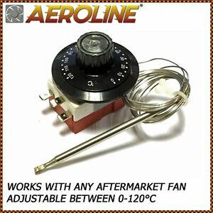 Aeroline® Capillary Thermostat Cooling Radiator Fan Control Switch 0-120°C