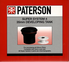Paterson PTP114 Super System 4 35mm Film Developing Tank c/w 1 Reel