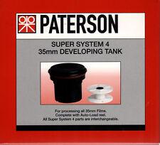 Paterson PTP114 Super sistema 4 35mm revelar Tanque C/W 1 Carrete