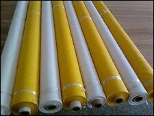 Silk Screen Mesh Fabric 40/60/80/100/110/120/140/160/180/200/250/300M 50'' Width
