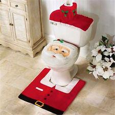 Copri water copriwater+tappeto tappetino gabinetto toilette BABBO NATALE bagno