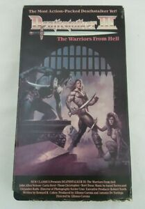 Deathstalker 3 III The Warriors From Hell VHS VCR Video Tape Movie Horror RARE