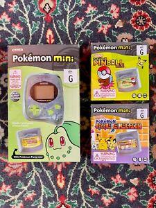 Pokemon Mini Console w/ 3 Games