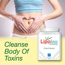 LIPOLOSS COLON CLEANSER CURE CONSTIPATION LOSE WEIGHT FLATTER TUMMY SAFELY