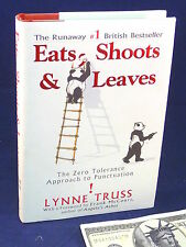 Learn to Write  Eats Shoots Leaves Zero Tolerance Puctuation Lynne Truss