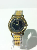 Genuine Vintage Citizen Gold Tone Quartz Analog Watch 5510A Used Pre-Owned