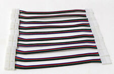10 PCS Connector PCB Board  Wire for LED SMD RGB 3528 5050 Flexible Strip Female