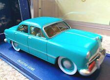 ATLAS TINTIN CAR # 49 Ford Custom - Destination Moon Herge model car 1/43 Scale