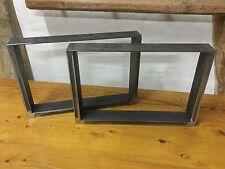 2St.Tischgestell,Kufengestell,Couchtisch,Tischuntergestell,30cm Höhe,60cm Breit