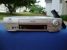 JVC HR-S3910U S-VHS VCR S-VIDEO In/Out Super VHS - Great Condition