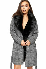 Cappotti e giacche da donna nessuna grigi in pelliccia