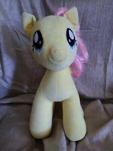 "BABW Build A Bear My Little Pony Plush 15"" Fluttershy Yellow Butterflies Pegasus"