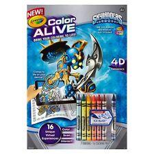 Crayola Color Alive Skylanders Book 4D Experience Brings Coloring to LIFE
