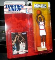 Starting Lineup Dominique Wilkins sports figure 1994 Kenner SLU Clippers