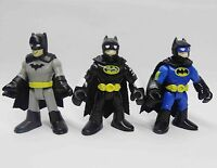lot of 3 Fisher-Price Imaginext DC Super Friends batman action figure 3""